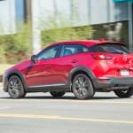 2016 Mazda CX 3 Grand Touring AWD rear three quarters in motion