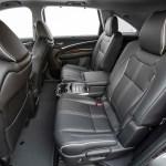 2017 Acura MDX Hybrid rear interior seats