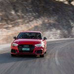 2017 Audi RS 3 front end in motion 02