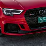 2017 Audi RS 3 grille