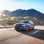 2017 Chevrolet SS front three quarter in motion 03