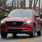 2017 Mazda CX 5 front end in motion
