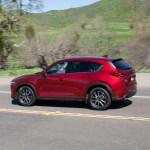 2017 Mazda CX 5 rear three quarter in motion