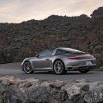 2017 Porsche 911 Targa 4S rear three quarter 02