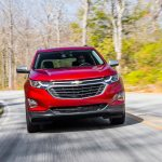 2018 Chevrolet Equinox front end in motion 08