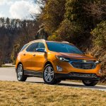 2018 Chevrolet Equinox front three quarter 13
