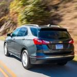 2018 Chevrolet Equinox rear three quarter in motion