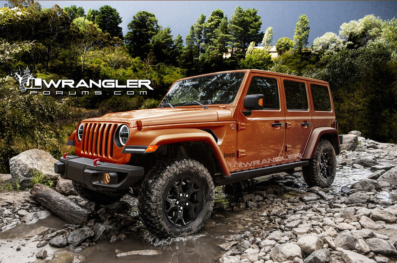 2018 Jeep Wrangler Unlimited Previewed In Unofficial