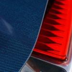 Bugatti Chiron taillight details