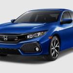 2017 Honda Civic Si Sedan front three quarter 02 1