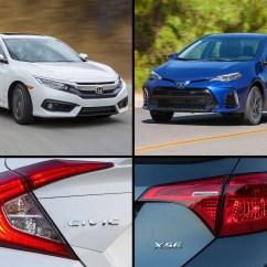 All New Corolla Altis Vs Civic Harga Toyota Yaris Trd Bekas Car Compare 2017 Honda