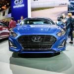 2018 Hyundai Sonata Limited front view