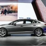 2018 Hyundai Sonata side profile