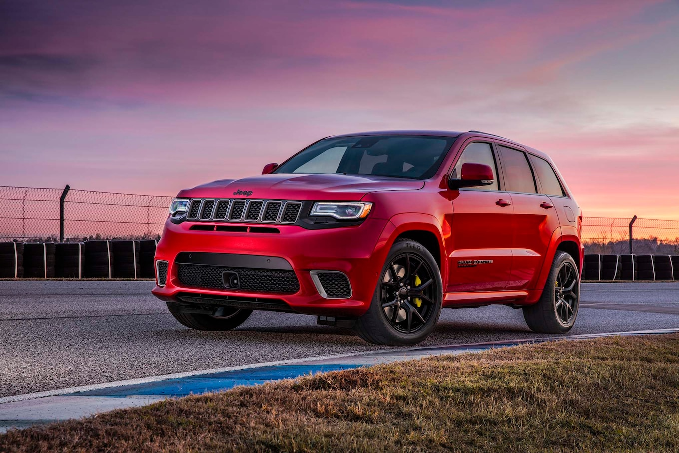 2018 Jeep Grand Cherokee Trackhawk First Look Hell