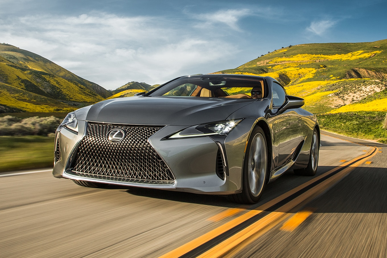 hight resolution of 2018 lexus lc 500 and lc 500h first test