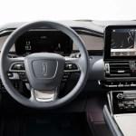 2018 Lincoln Navigator cockpit