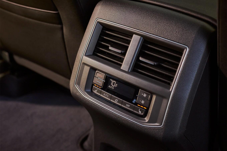 2018 Volkswagen Atlas rear seat climate control