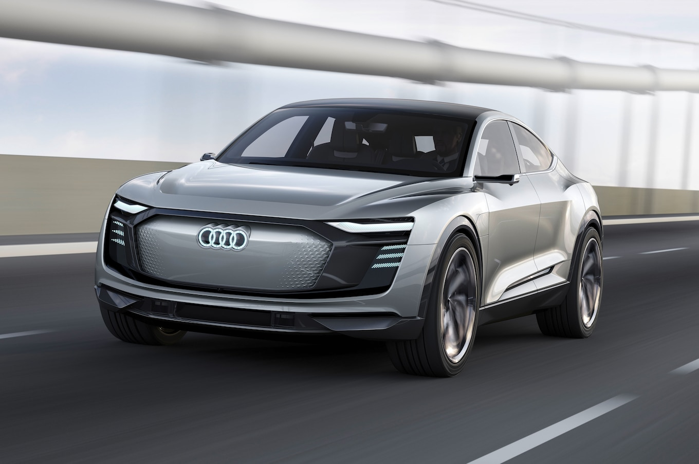 Audi Etron Sportback Headed To Production In 2019  Motor