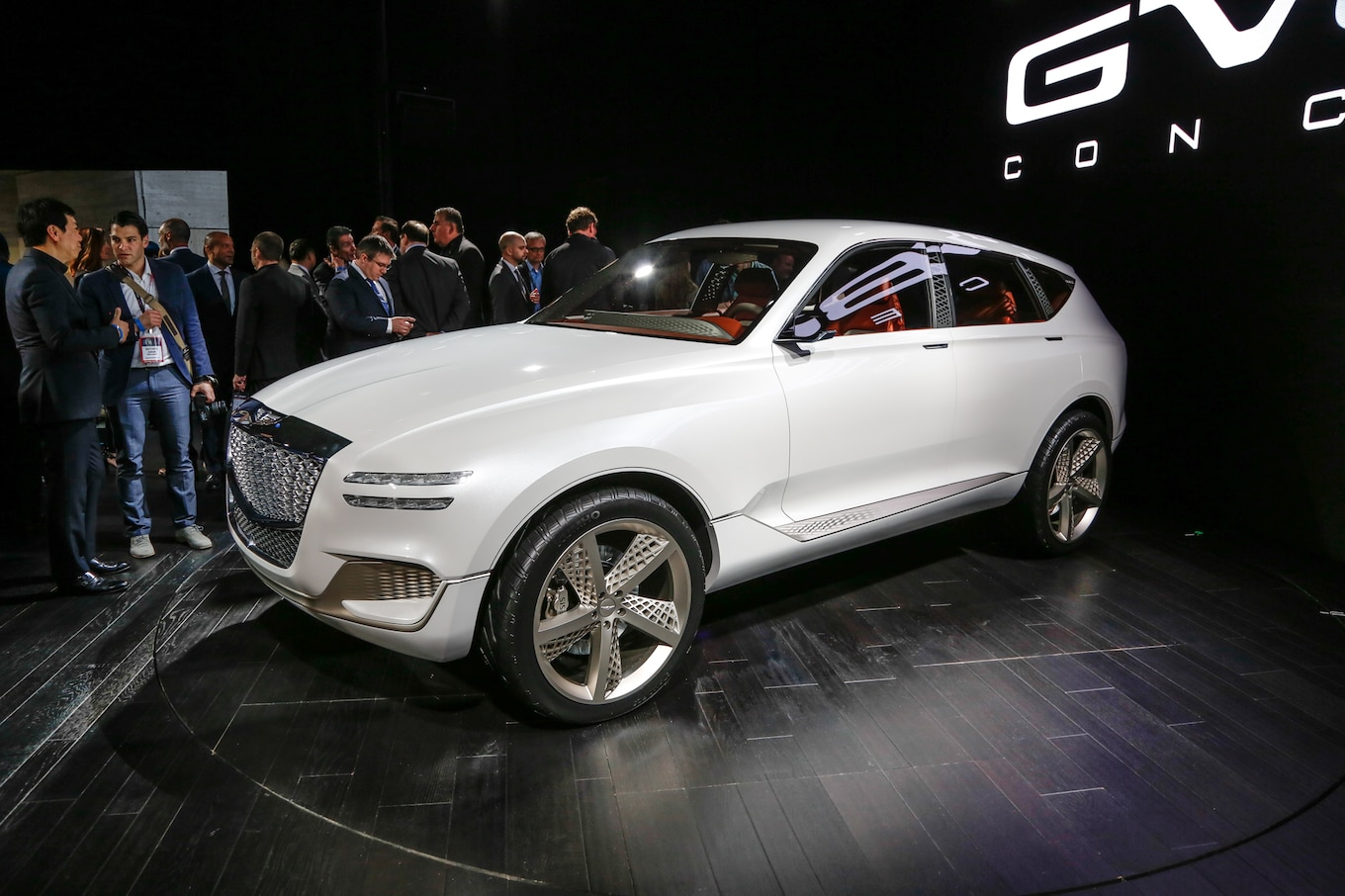 Genesis Luxury Brand Expands with GV80 SUV Concept  MotorTrend
