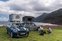 Special Autohome two-man tents for MINI Countryman