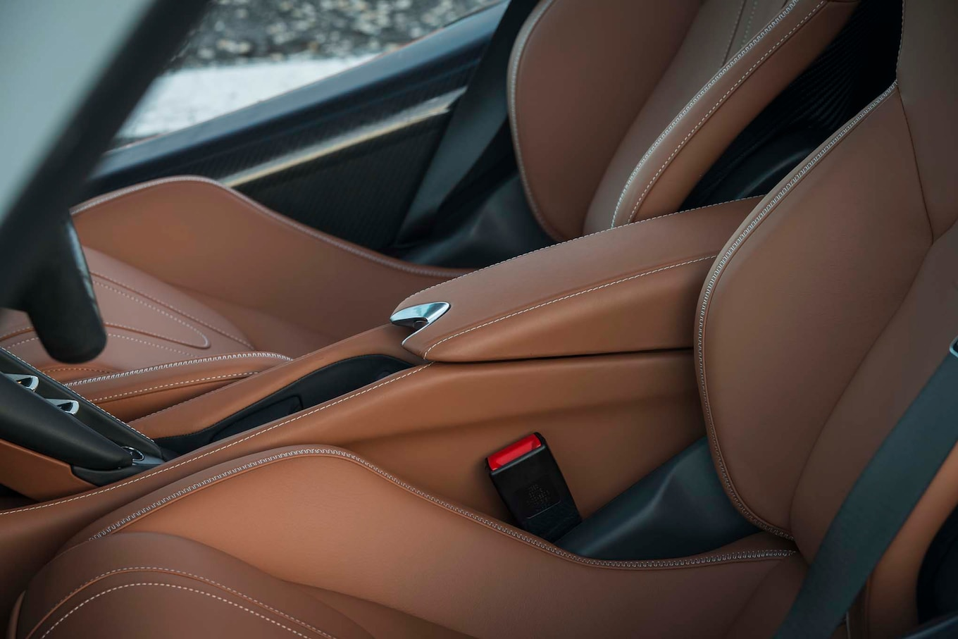 2018 mclaren 720s interior.  interior of luggage spaceu201453 cubic feet up front and 74 under the  rear glassu2014the 720s is a surprisingly accomplished grand tourer on highway intended 2018 mclaren 720s interior