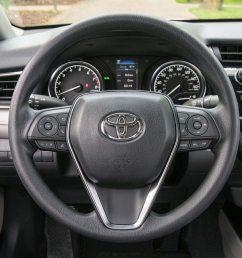 2018 toyota camry le steering wheel carol ngo june 13 2017 [ 1360 x 907 Pixel ]