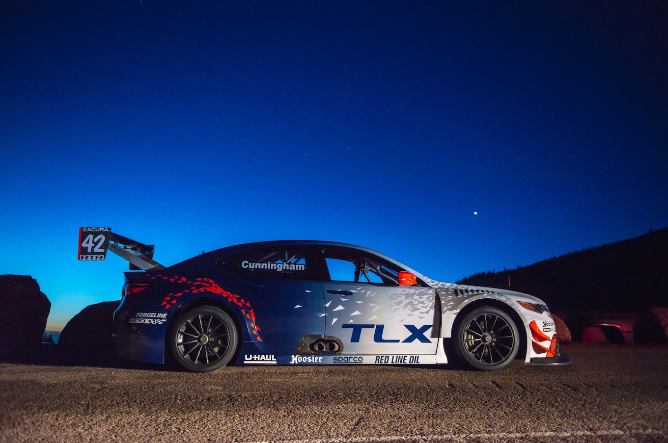 Acura NSX TLX A Spec to Tackle Pikes Peak Motor Trend