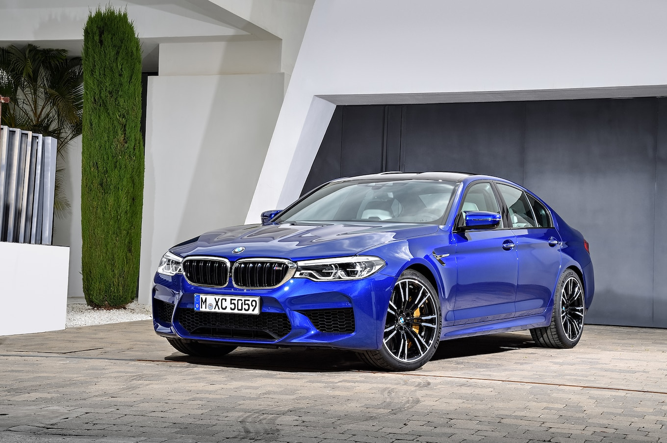 2018 Bmw M5 First Look Review  Motor Trend