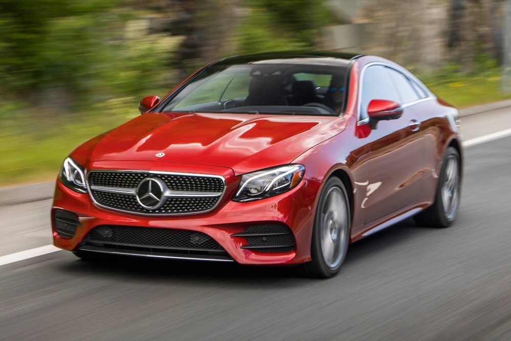 medium resolution of 2018 mercedes benz e400 4matic coupe first test ooooh look at that motortrend
