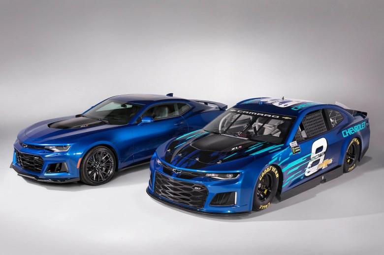 Chevrolet's New NASCAR Race Car Will Look Like a Camaro ZL1 - Motor Trend