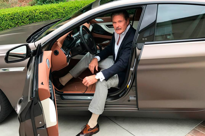 Custom Classic Cars Wallpaper Celebrity Drive David Hasselhoff Motortrend