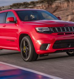 2018 jeep grand cherokee trackhawk first drive fastest suv carries a jeep badge motor trend [ 1360 x 903 Pixel ]