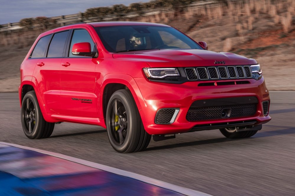 medium resolution of 2018 jeep grand cherokee trackhawk first drive fastest suv carries a jeep badge motor trend