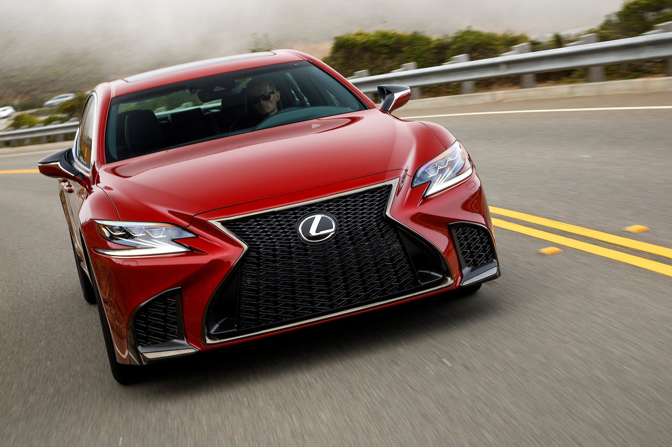 2018 Lexus LS First Drive Not My Father s LS Motor Trend