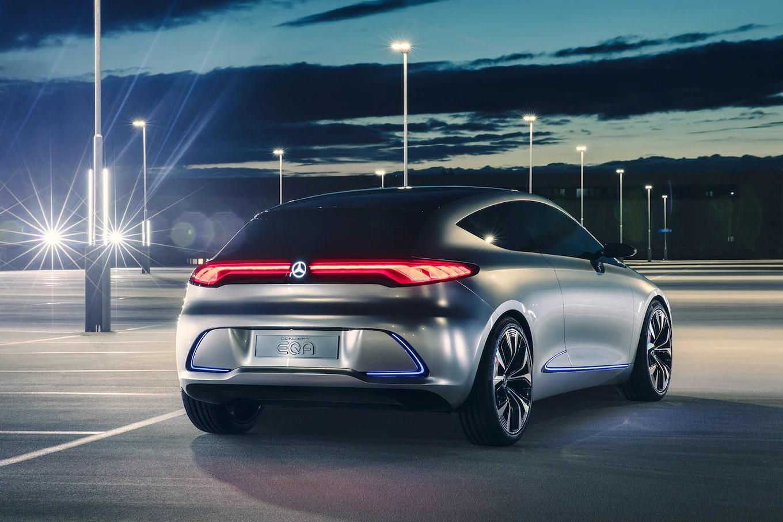 Mercedes-Benz EQA Concept llega a Frankfurt - Motor Trend en Español