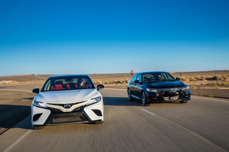 all new camry type v cara mematikan alarm grand avanza 2018 toyota xse 6 vs honda accord touring 2 0t comparison
