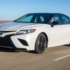 Brand New Camry 2018 Price Harga Grand Veloz 1.5 A/t Toyota Reviews And Rating Motortrend Xse Front Three Quarter In Motion 07 E1510268418873