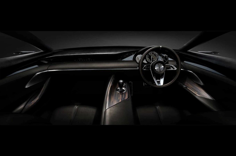 Mazda Vision Coupe Concept Interior Motor Trend