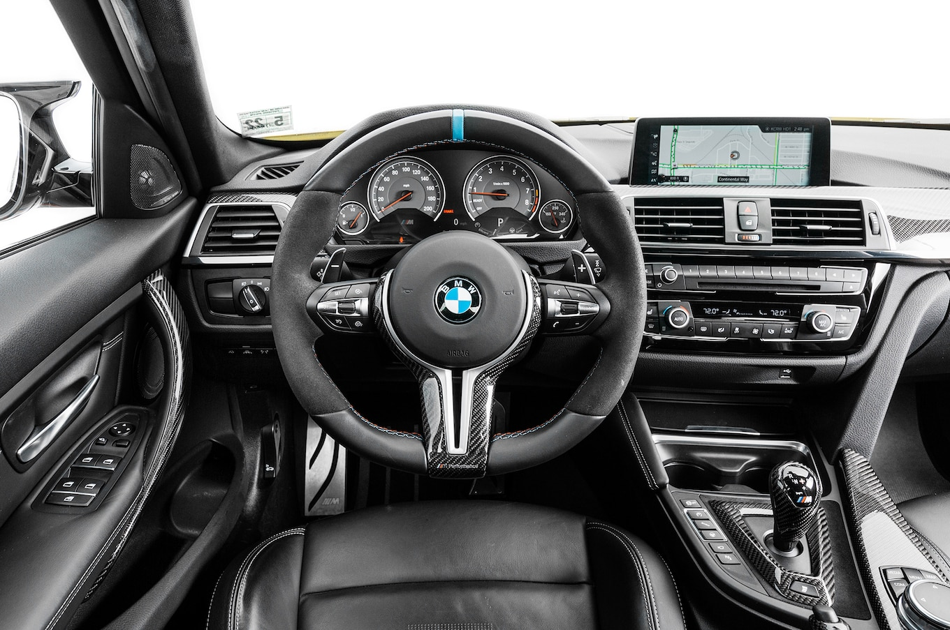 2017 BMW M3 With M Performance Parts First Test Review Dial M for Modification  Motor Trend