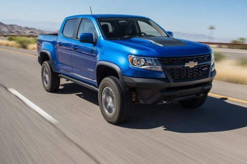 small resolution of 2018 chevrolet colorado zr2 gas and diesel first test review motor trend