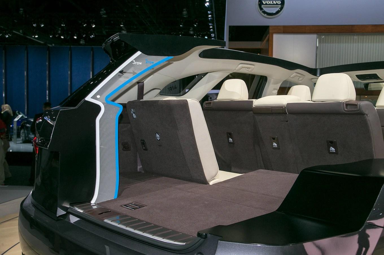 2018 Lexus RX L Rear Interior View Motortrend