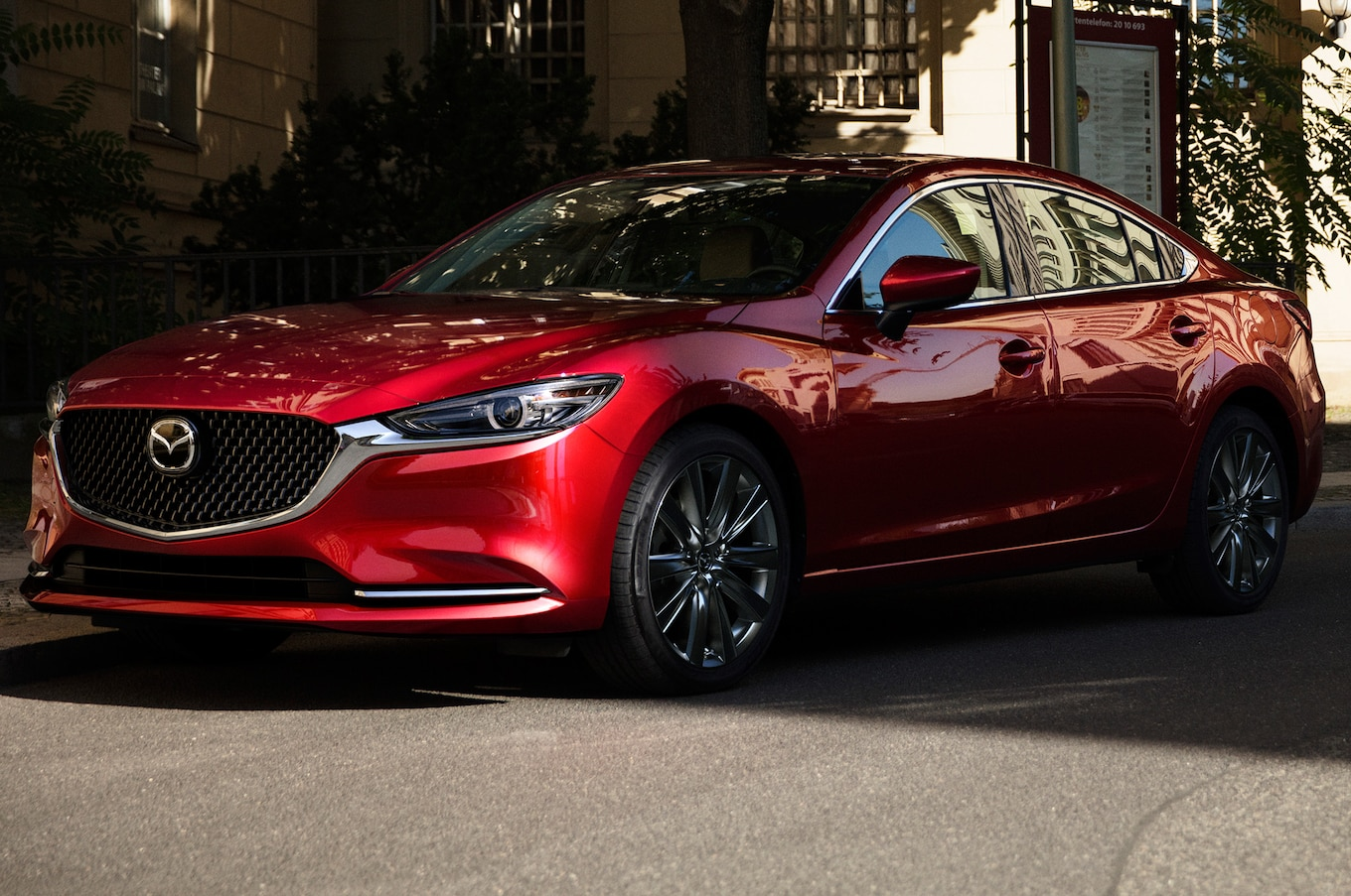 2018 Mazda6 First Look Mazda's Midsizer Gets A Refresh