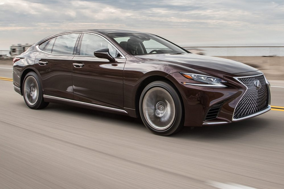 medium resolution of 2018 lexus ls 500 first test review devil is in the details motor trend