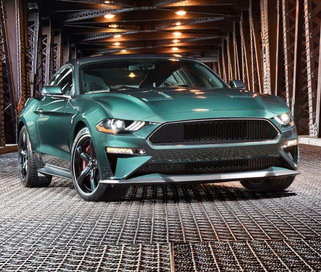Ford Mustang Bullitt First Look Famed Car Returns