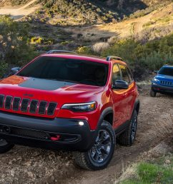 2019 jeep cherokee trailhawk 2 0 first test ready for the wilderness motortrend [ 1360 x 903 Pixel ]