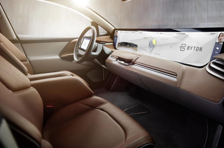 interior grand new veloz 1.3 avanza vs honda mobilio ev startup byton to show autonomous electric concept