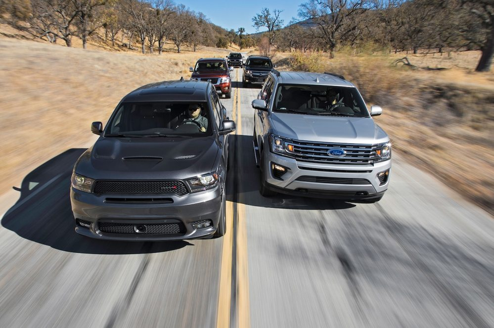 medium resolution of beasts of burden ford expedition vs chevrolet tahoe vs dodge durango vs toyota sequoia vs nissan armada motortrend
