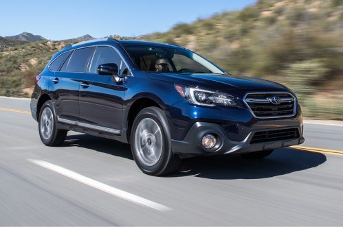 small resolution of 2018 subaru outback 3 6r first test the more powerful multi purpose wagon motortrend