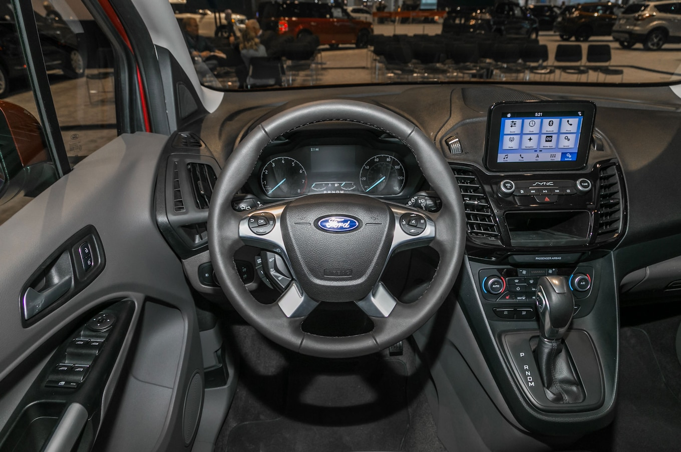 2019 Ford Transit Connect Wagon Interior Motortrend