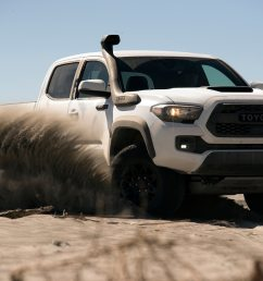 2019 toyota tacoma trd pro first drive shocking development motortrend [ 1360 x 903 Pixel ]